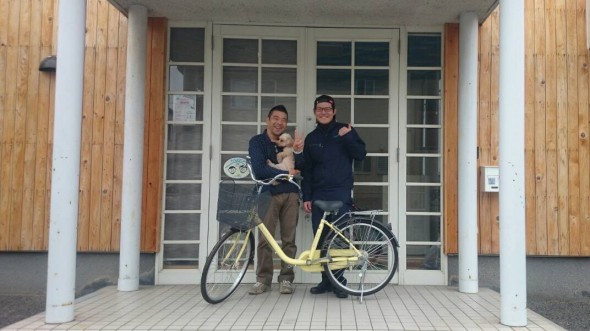 自転車寄付