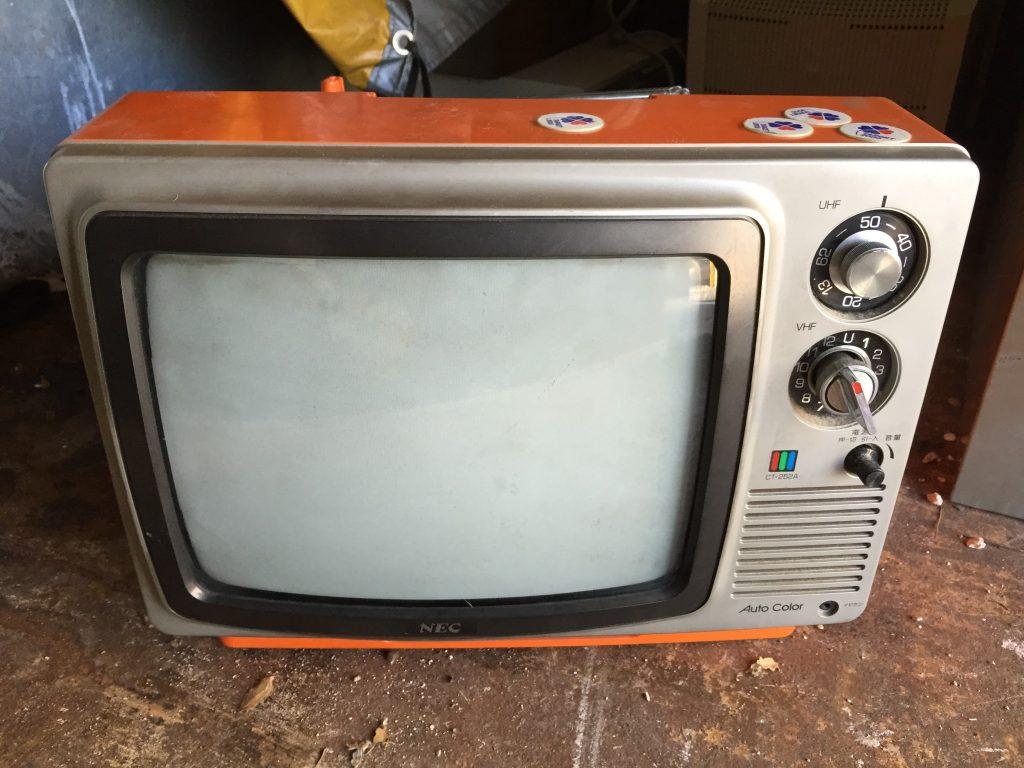 古いテレビ 画像