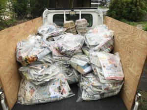 新聞紙トラック