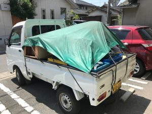 荷物トラック2