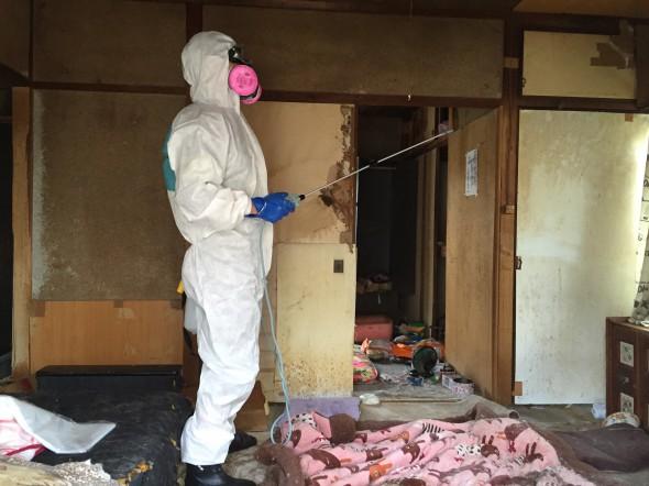 特殊清掃、消毒、消臭、害虫駆除