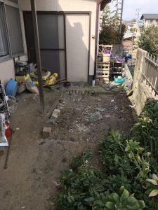 吉田邸物置整理及び解体170308_170308_0001