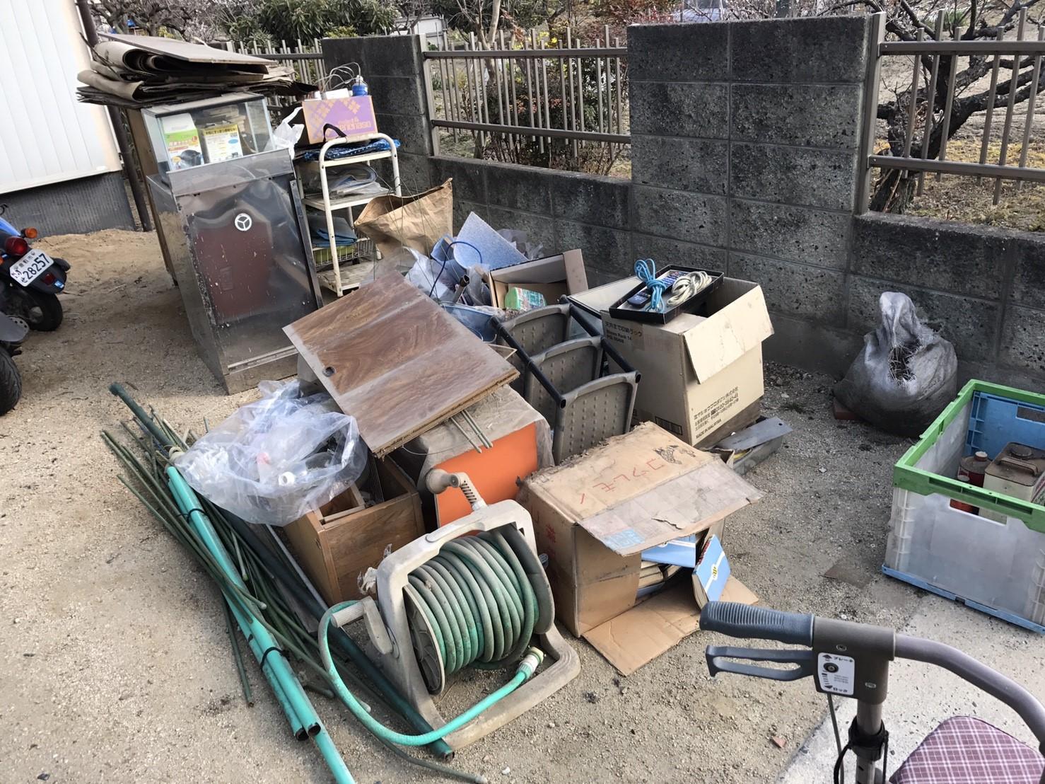 吉田邸物置整理及び解体170308_170308_0004